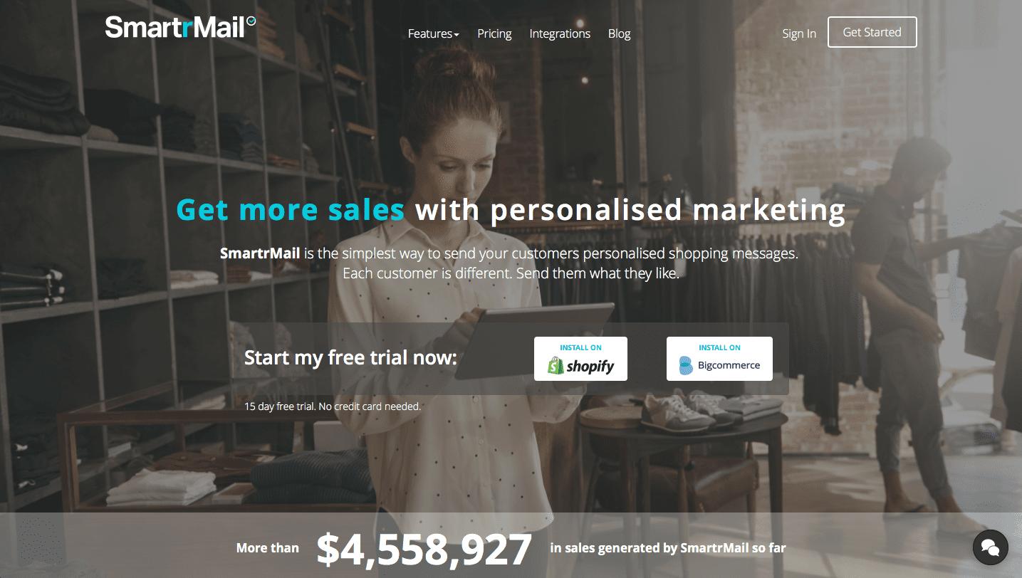 SmartrMail BigCommerce App
