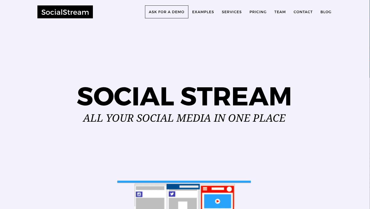 Social Stream screencap