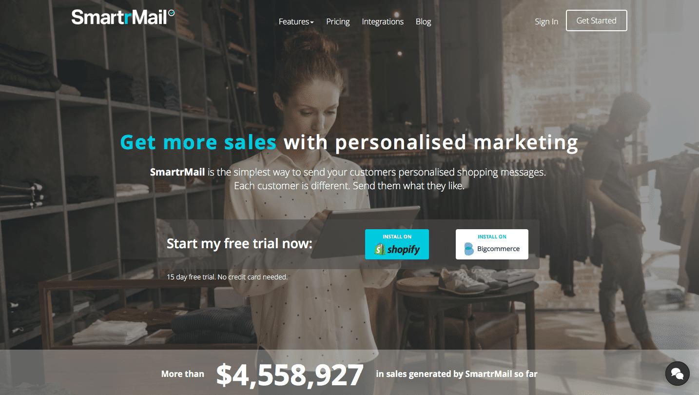 SmartrMail Shopify App
