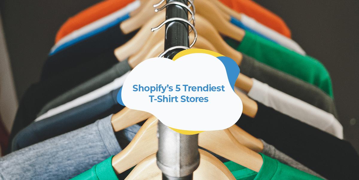 shopify t shirt store
