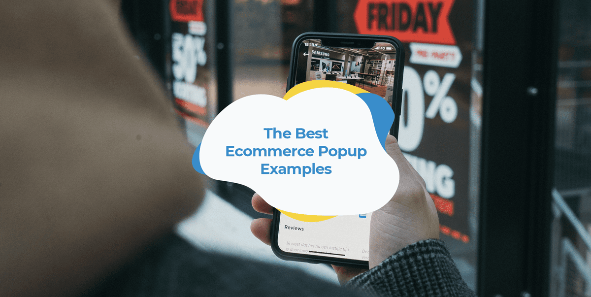 ecommerce popup examples