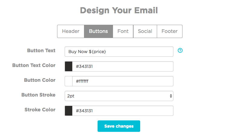 SmartrMail Email Design