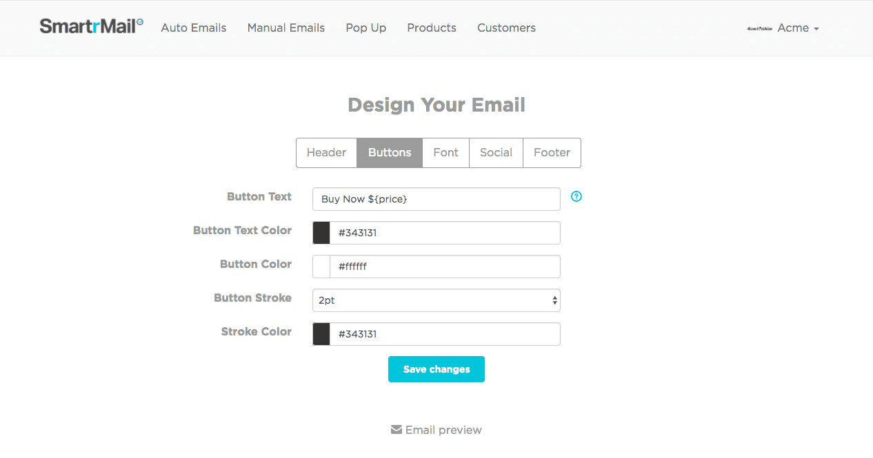 SmartrMail Email Newsletter Design