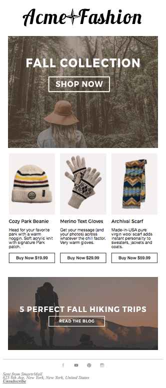 Shopify and BigCommerce Manual Newsletter