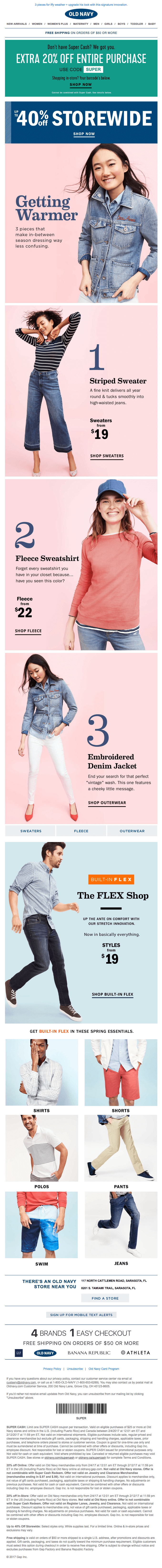 old navy email