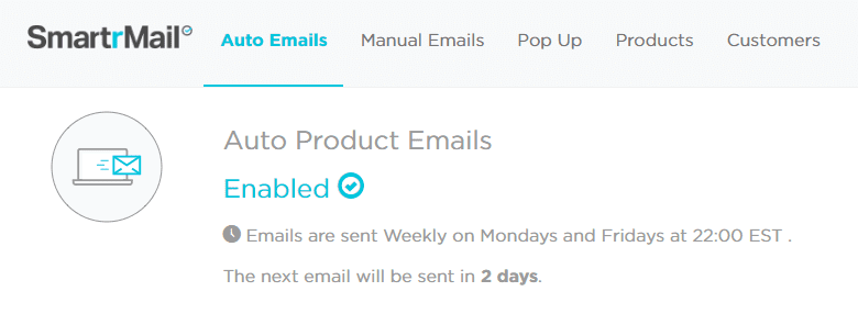 auto product emails smartrmail