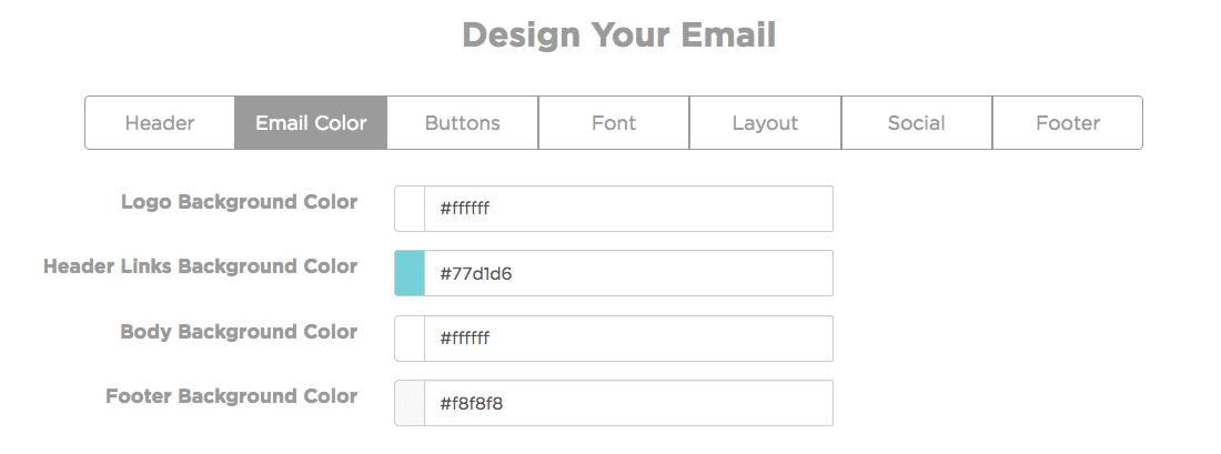 SmartrMail Color Designer