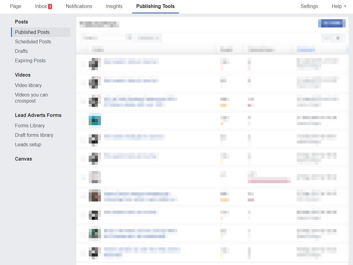 facebook publishing tools email addresses