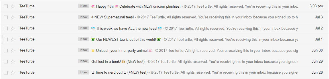 teeturtle daily emails new daily content designs