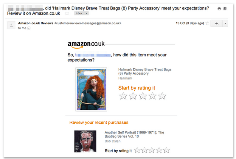 amazon review ratings social proof post-purchase