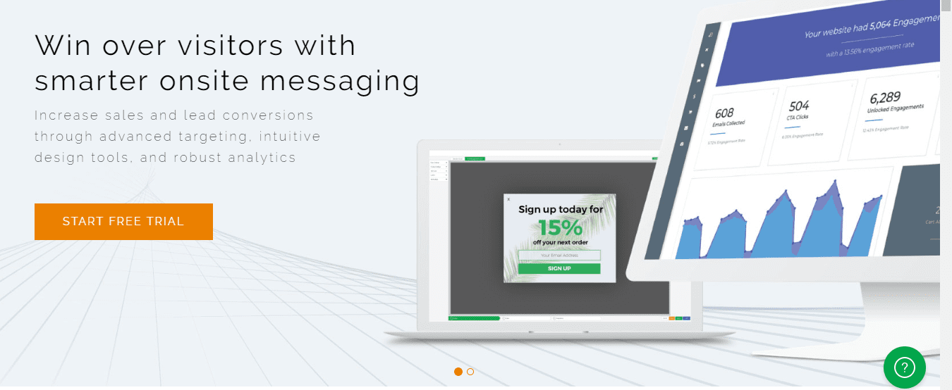 Win over visitors with smarter onsite messaging