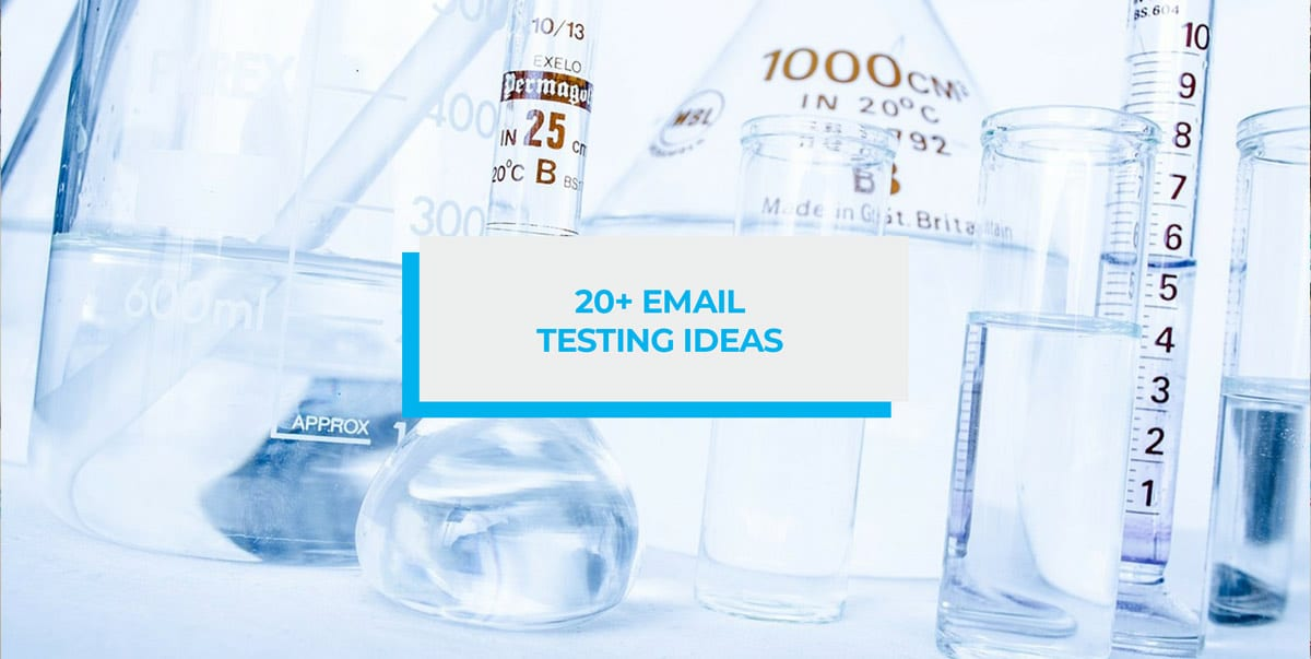 Email testing ideas header image