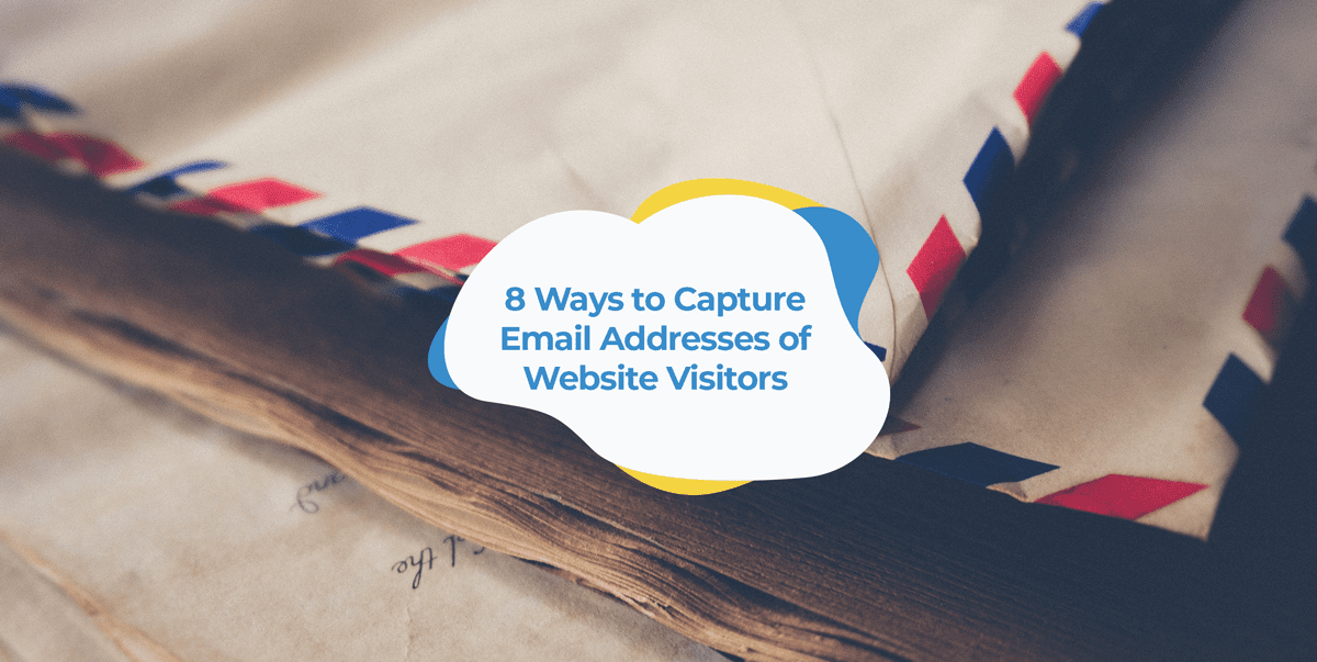 how to collect email addresses on website