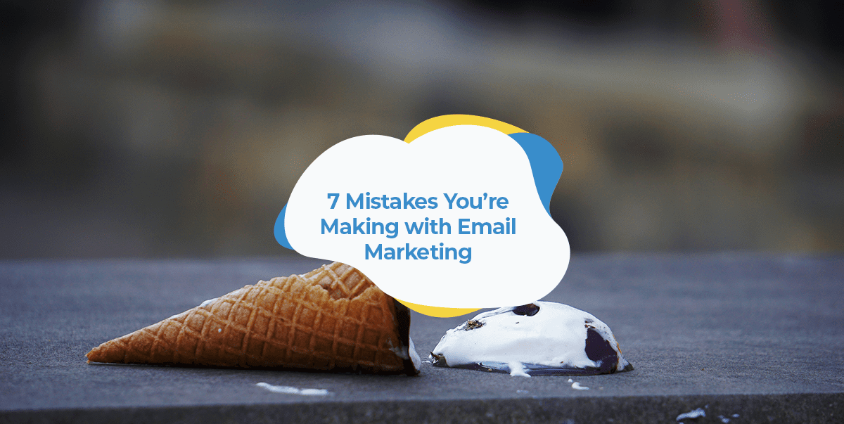 email marketing mistakes header image