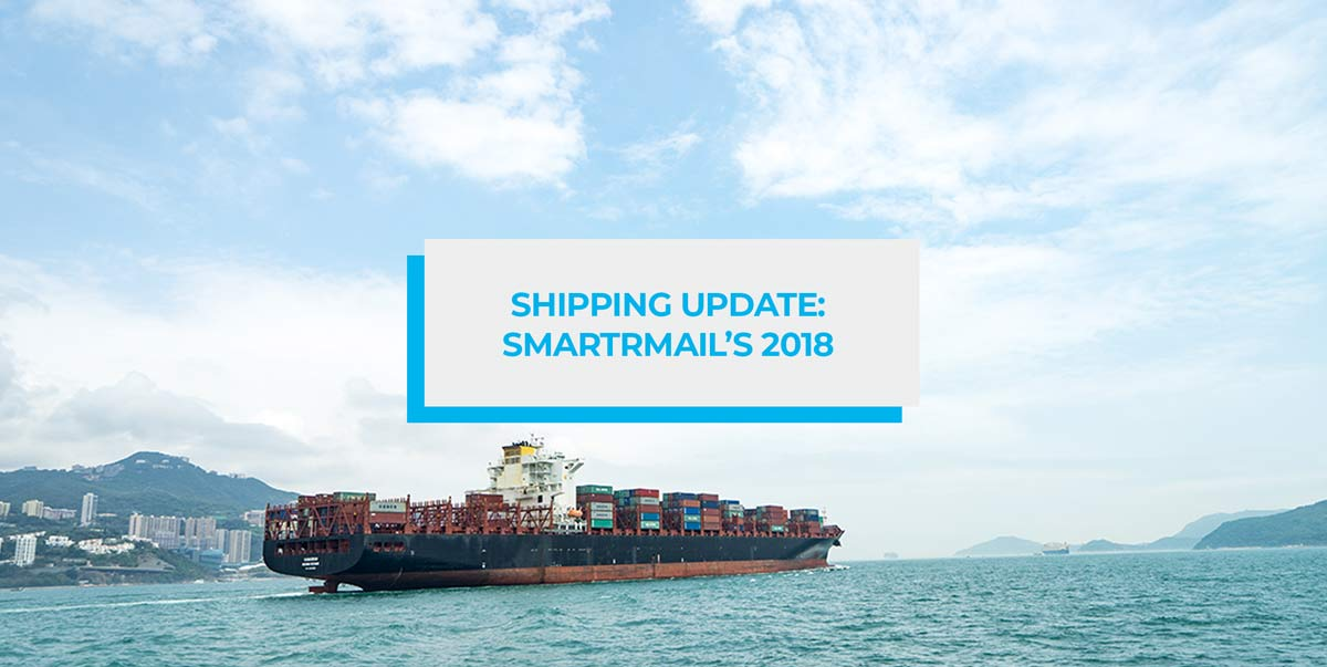 Shipping Update: SmartrMail's 2018 Blog Header Image