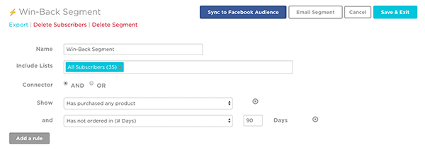 Facebook Custom Audience Integration