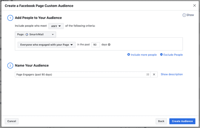 shopify facebook ads example