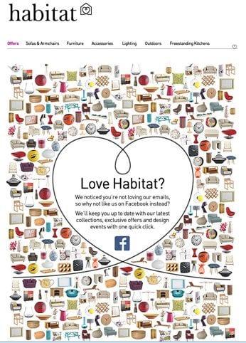 habitat email win-back example
