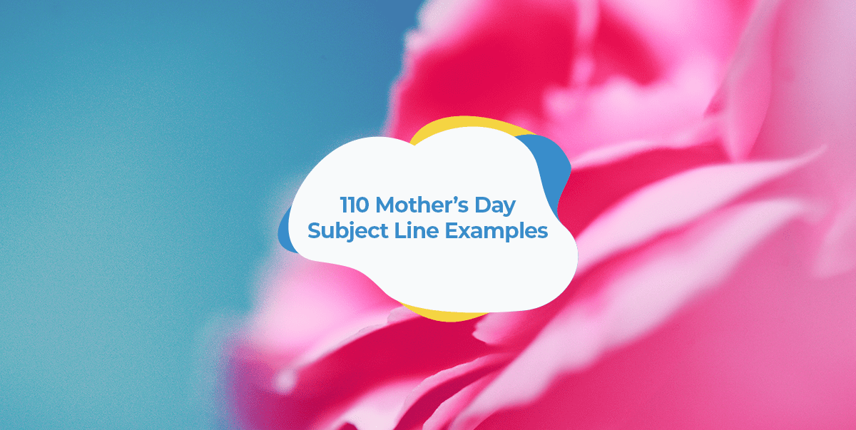 mother's day subject lines header image