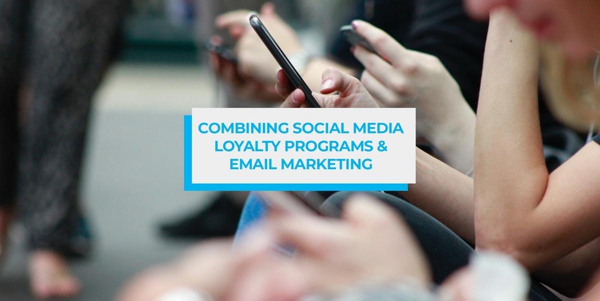 social media loyalty program header image