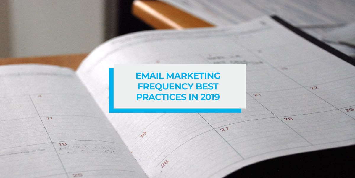 email marketing frequency best practices header image
