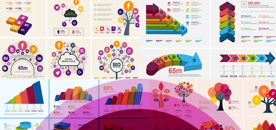 Infographic Bundle | 900+ Vector Infographic Elements