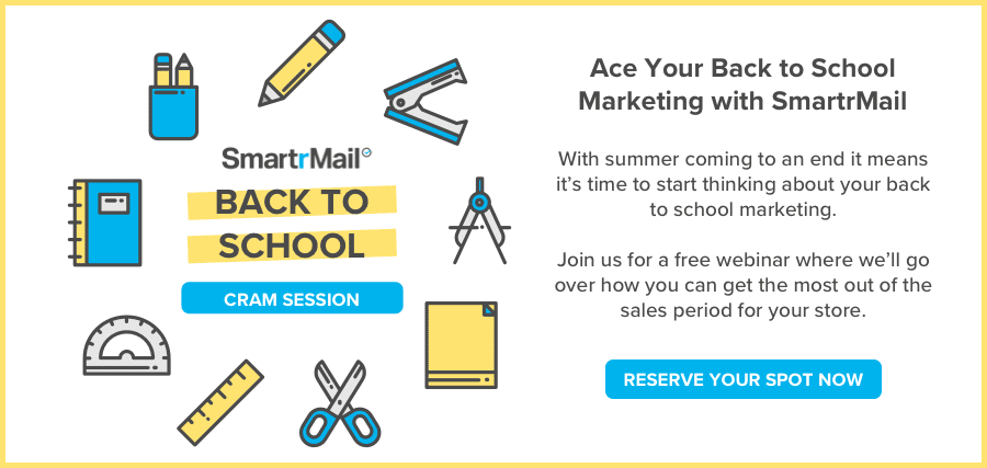 join us for a free webinar on back to school marketing. sign up here now.