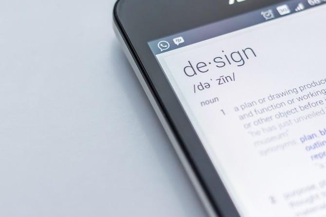 email font design