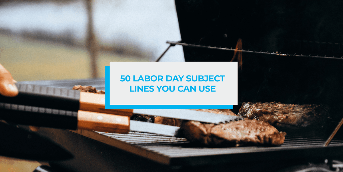 Labor Day Subject Lines Header Image