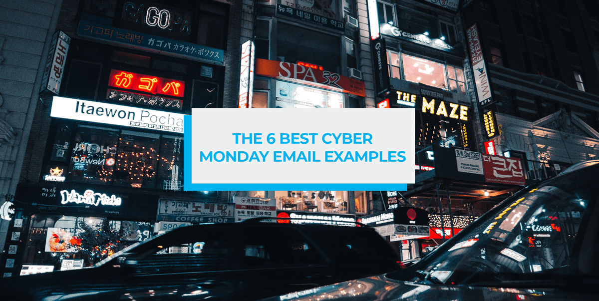 cyber monday email examples post header image