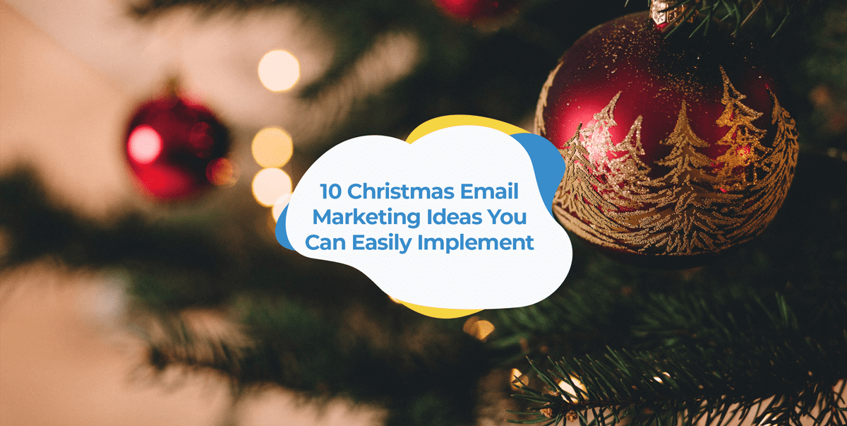 christmas email marketing ideas header image