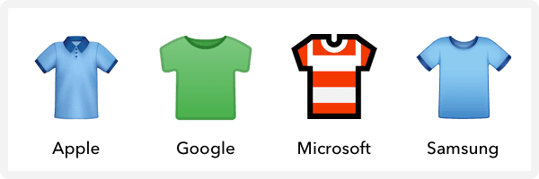 how t-shirt renders across different mobile devices