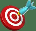 on target emoji
