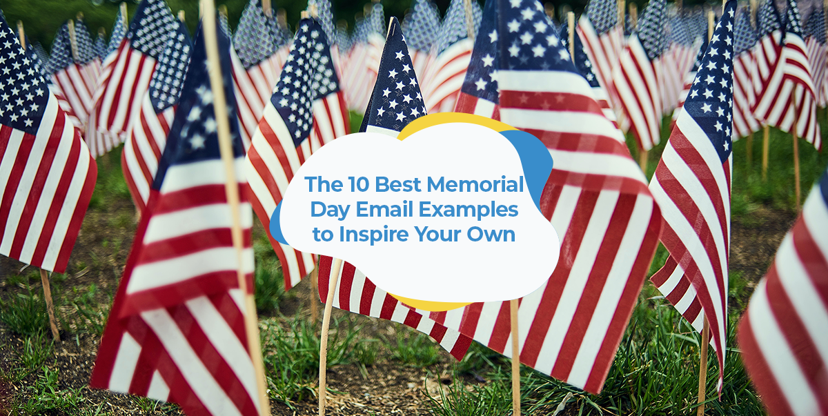 memorial day emails