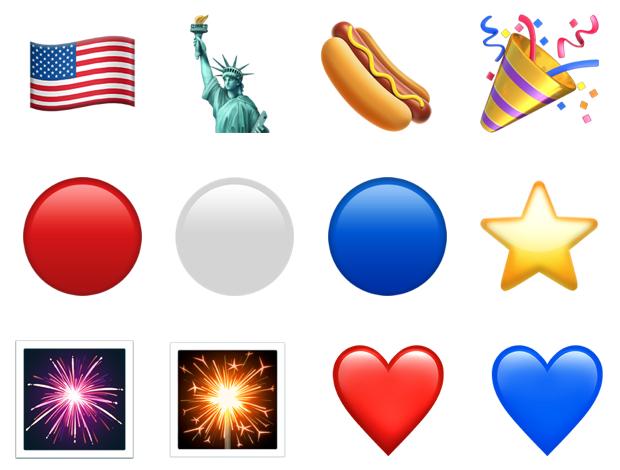 memorial day emojis