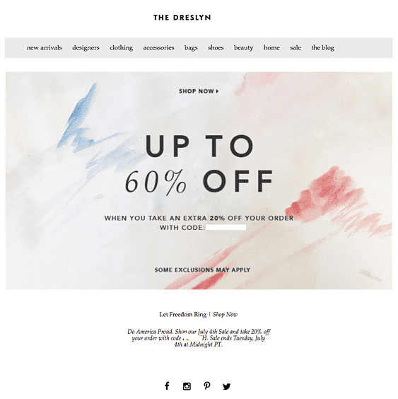 example of sophisticated email design