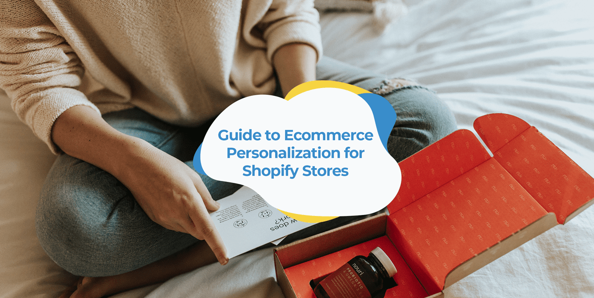 shopify ecommerce personalisation