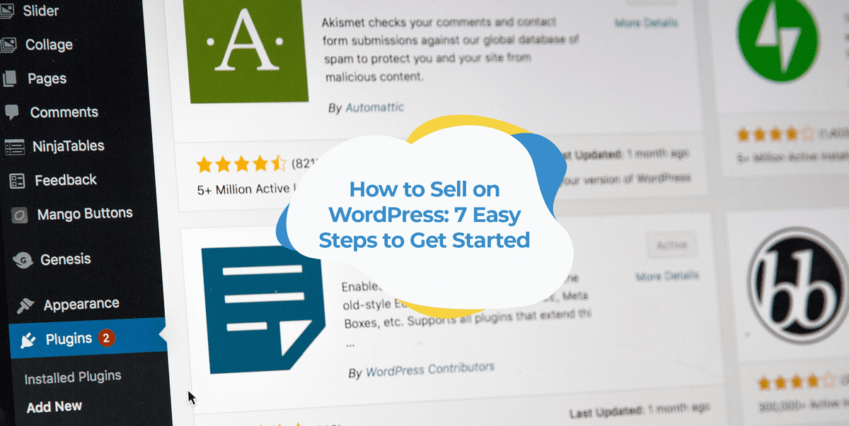 how to sell on wordpress woocommerce