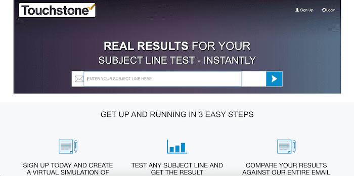 touchstone line tester tool