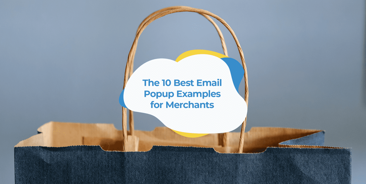 email pop up examples header image