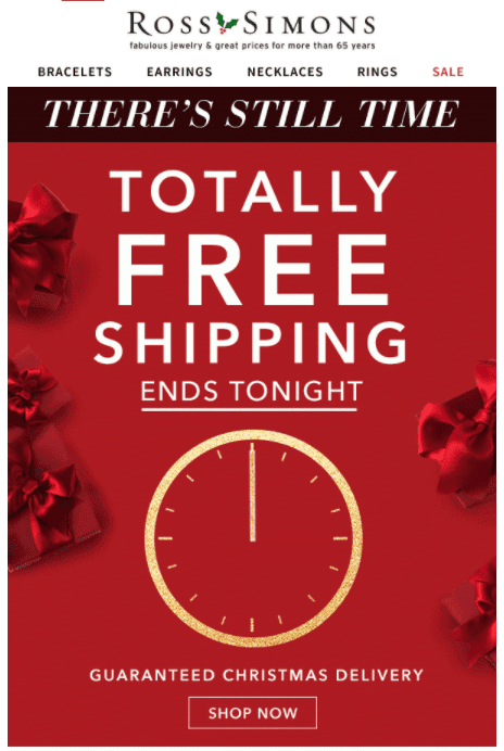 free shipping day campaign