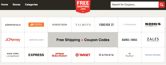 national free shipping day website