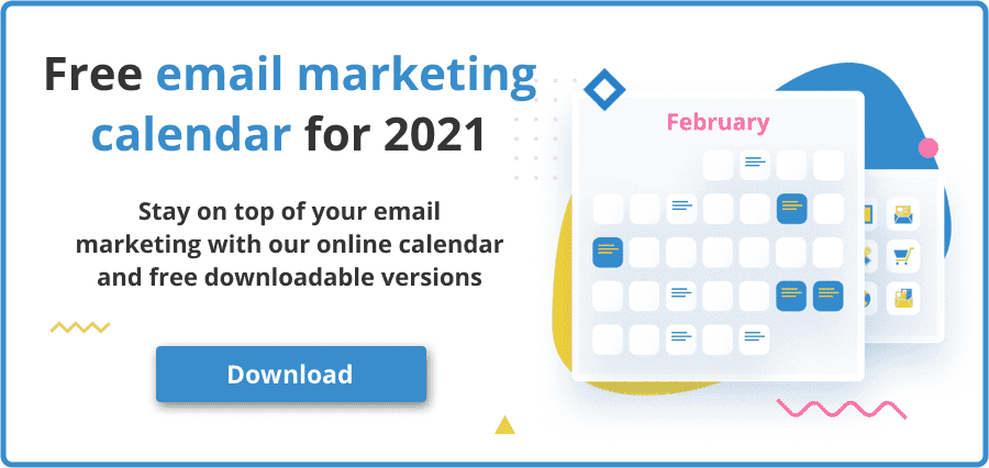 2021 email marketing calendar