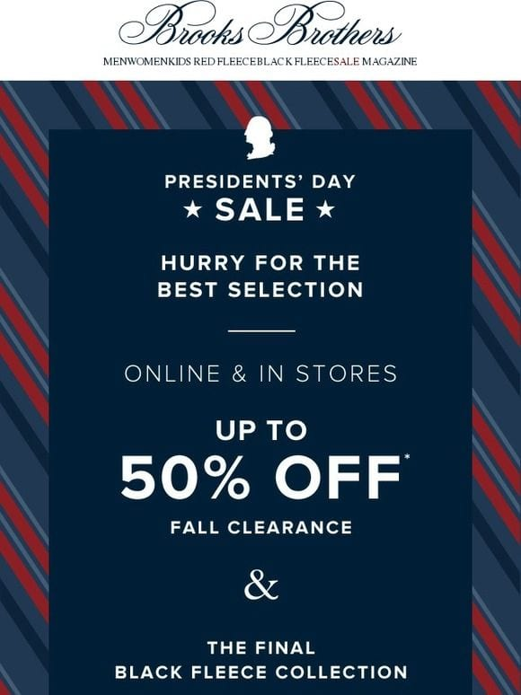 email design inspiration for presidents day