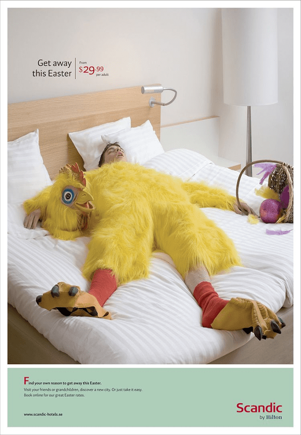 easter bunny email message