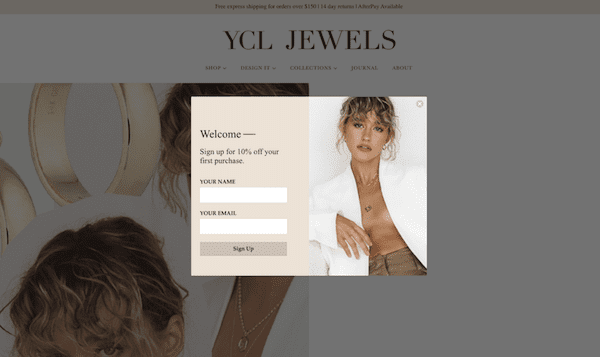 ycl jewels pop up