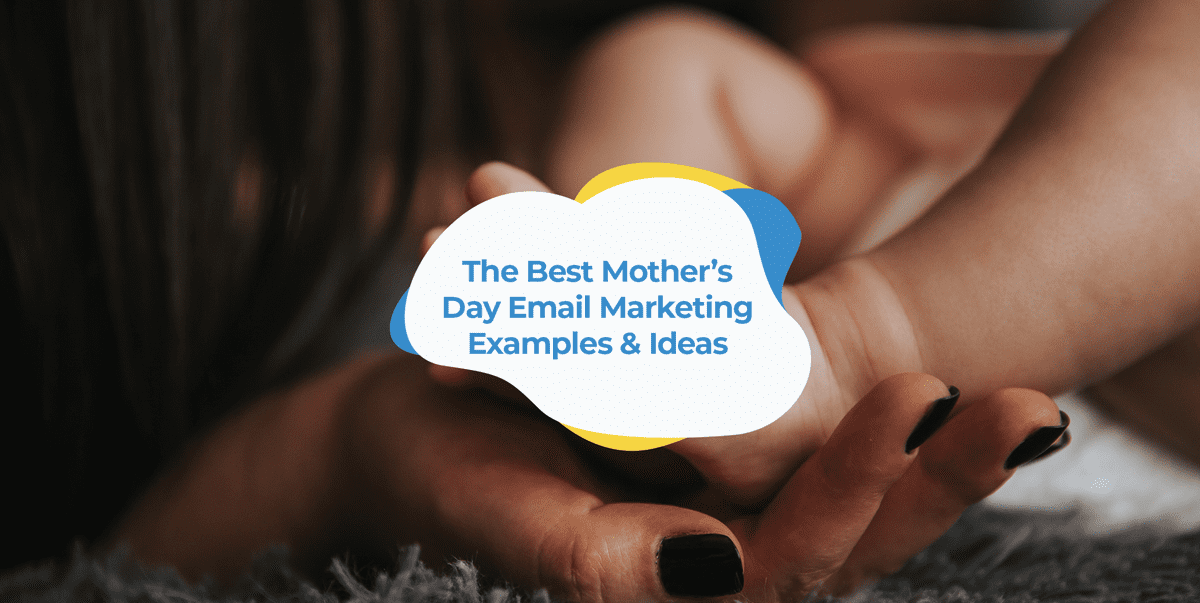 mother's day email examples header images