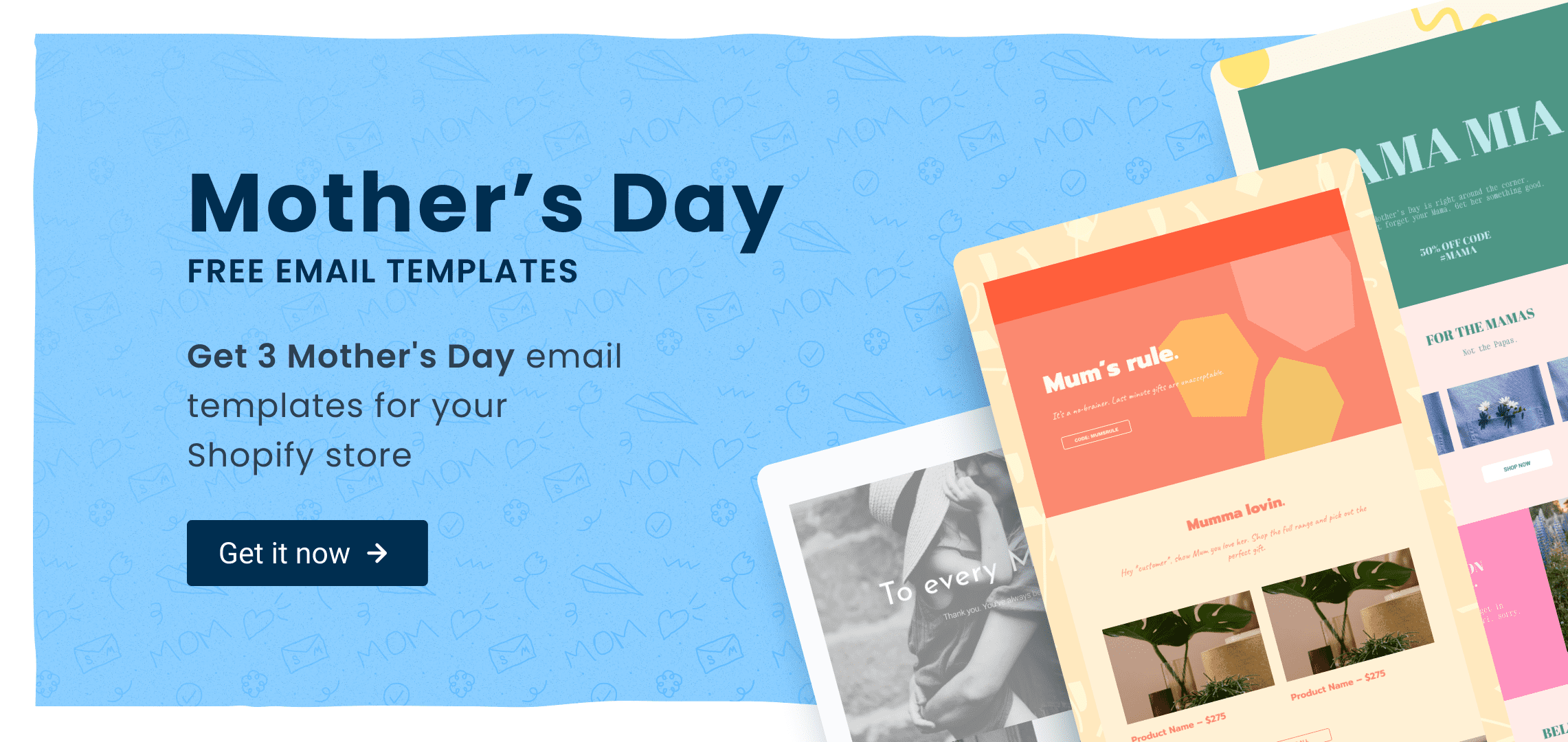 mothers day email templates