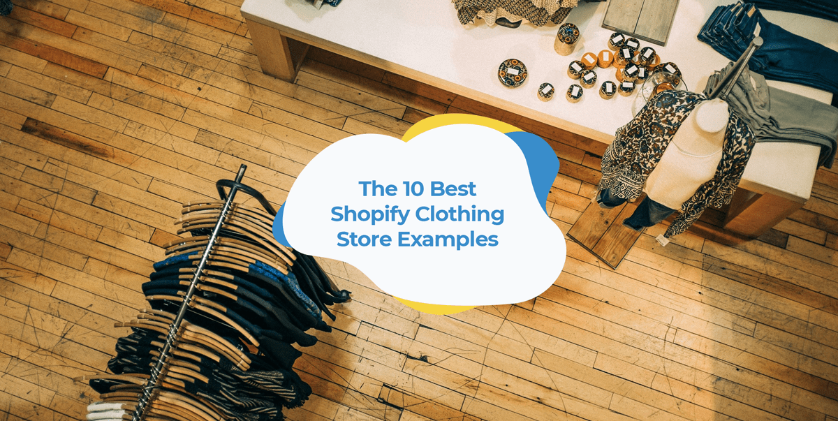 shopify clothing apparel stores header image