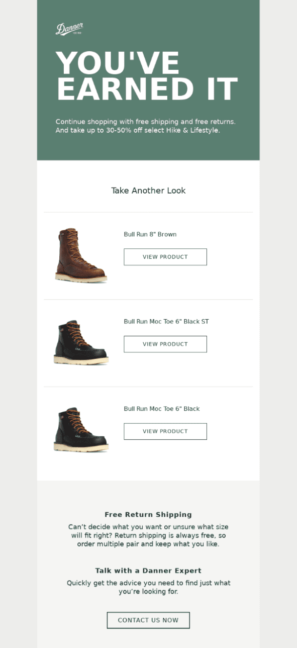 danner email marketing strategy
